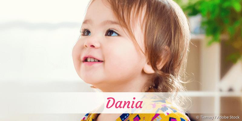 Name Dania als Bild