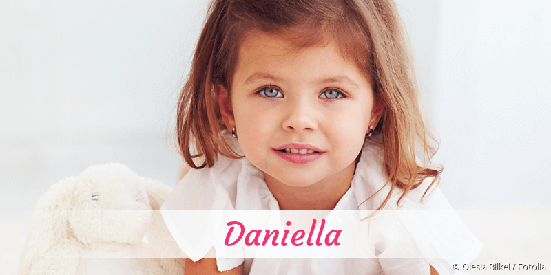 Name Daniella als Bild