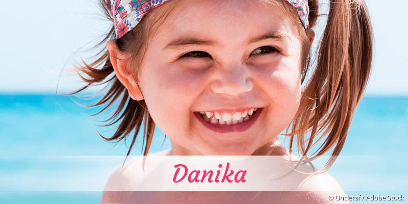 Name Danika als Bild