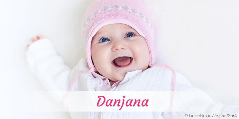 Name Danjana als Bild