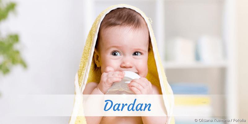 Name Dardan als Bild