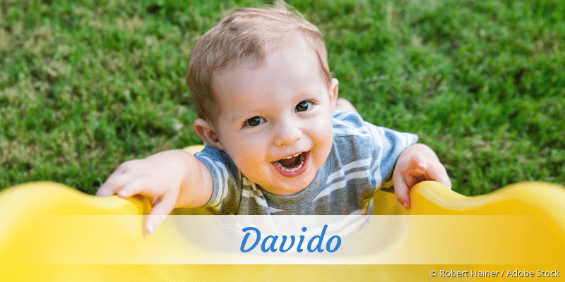 Name Davido als Bild