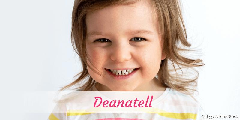 Name Deanatell als Bild