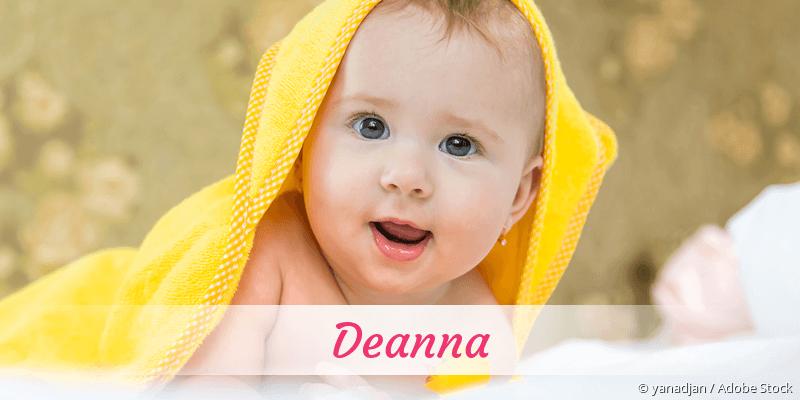 Name Deanna als Bild