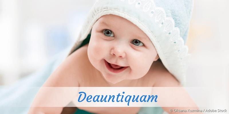 Name Deauntiquam als Bild