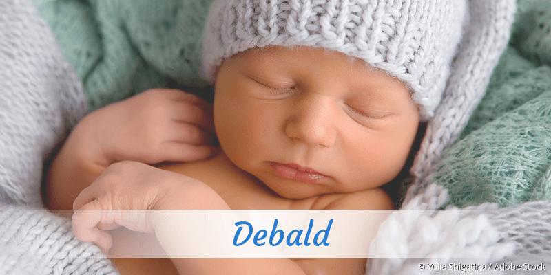 Name Debald als Bild