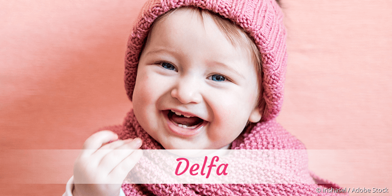 Name Delfa als Bild