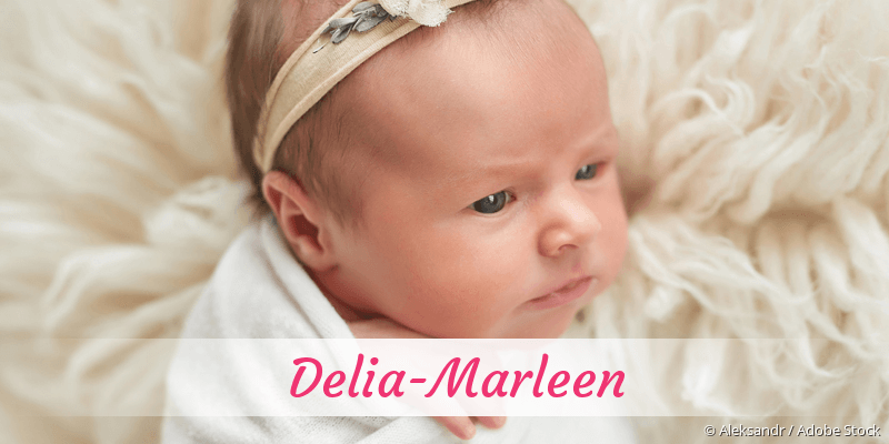 Name Delia-Marleen als Bild