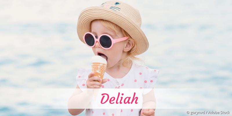 Name Deliah als Bild
