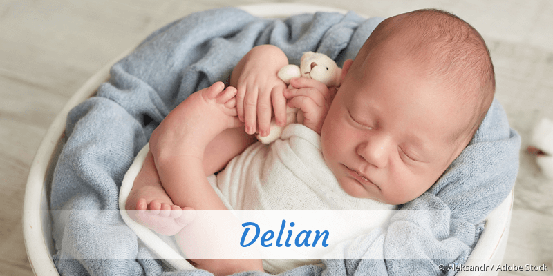 Name Delian als Bild