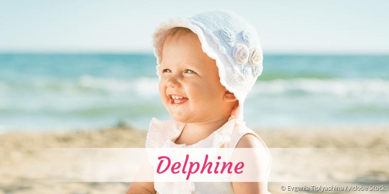 Name Delphine als Bild
