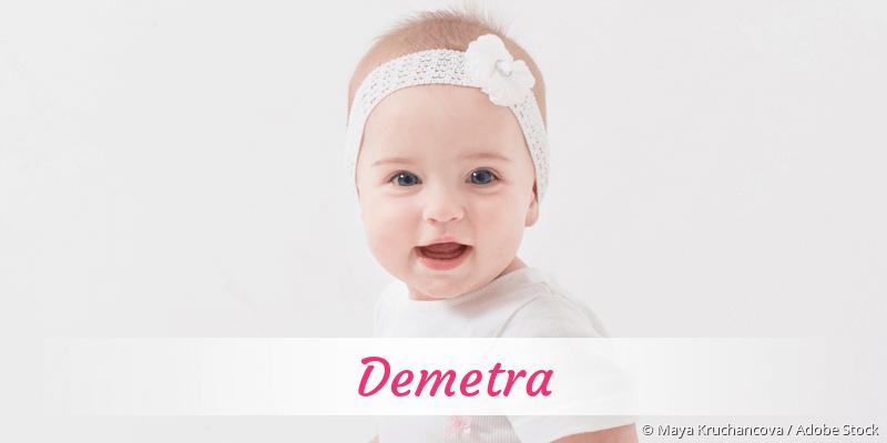 Name Demetra als Bild