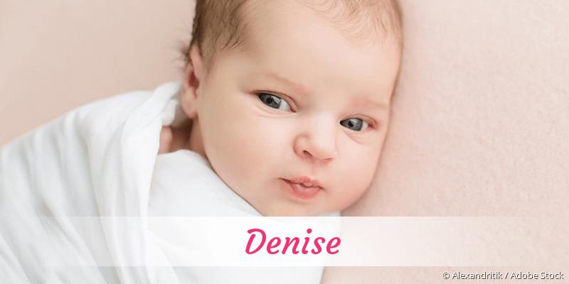 Name Denise als Bild