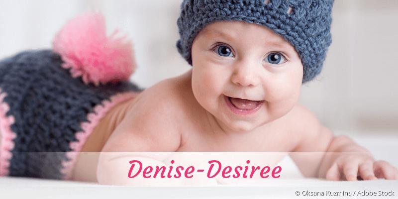 Name Denise-Desiree als Bild