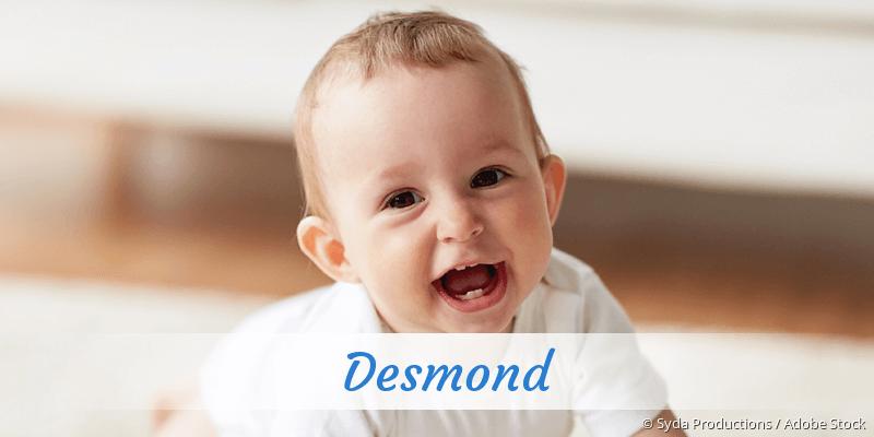 Name Desmond als Bild