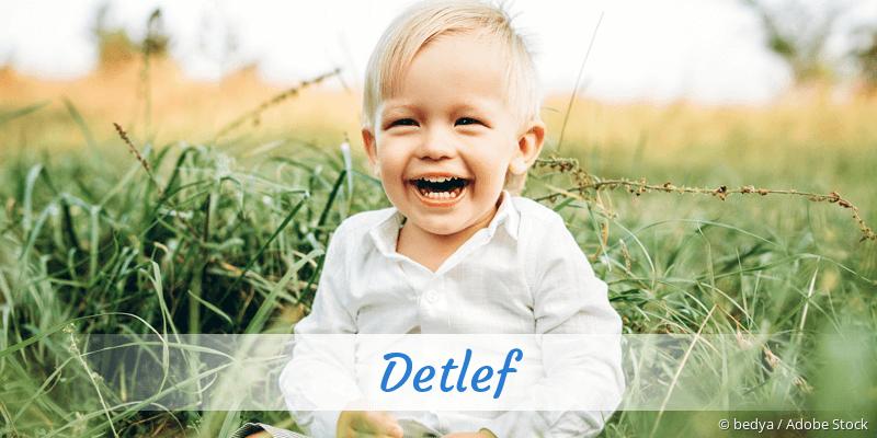 Name Detlef als Bild