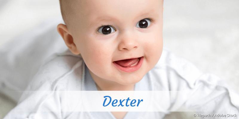Name Dexter als Bild