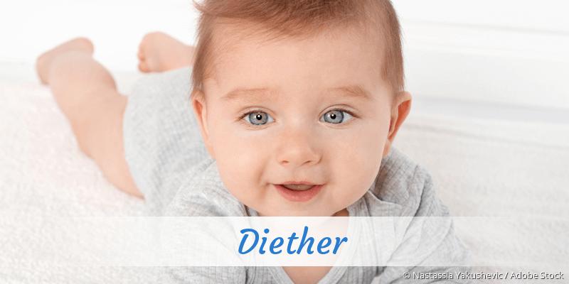 Name Diether als Bild