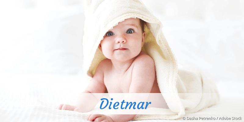 Name Dietmar als Bild