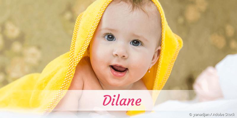 Name Dilane als Bild