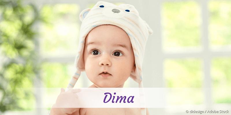Name Dima als Bild