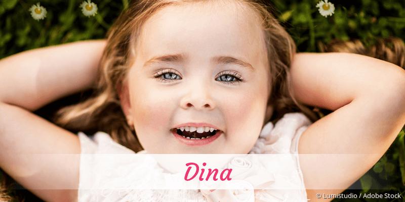 Name Dina als Bild