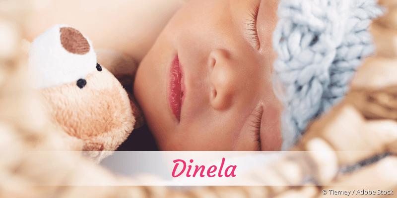 Name Dinela als Bild