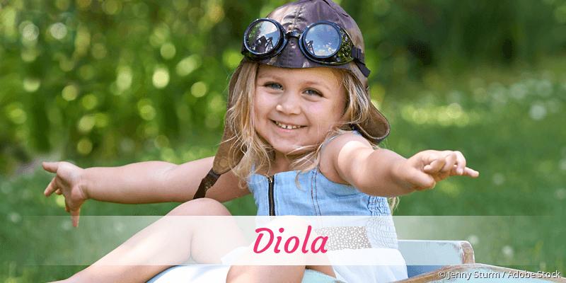 Name Diola als Bild