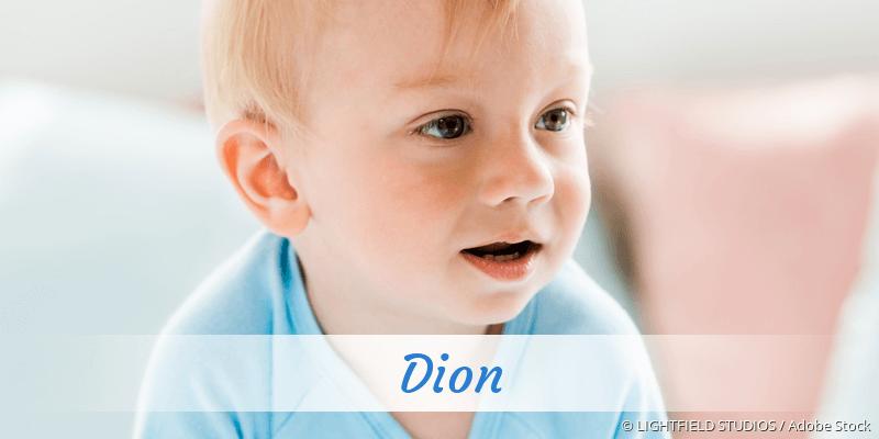 Name Dion als Bild