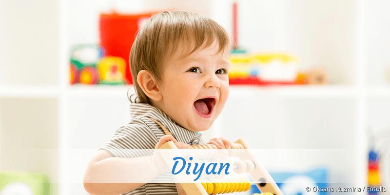 Name Diyan als Bild
