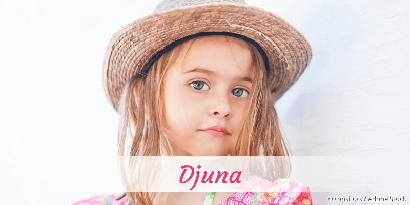 Name Djuna als Bild