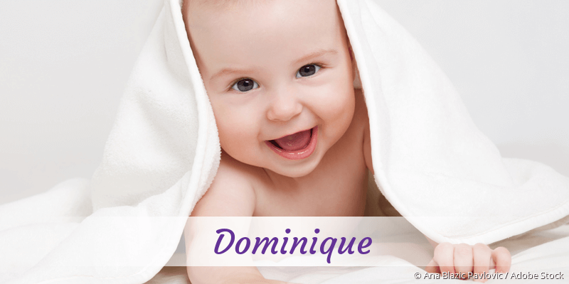 Name Dominique als Bild