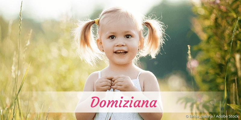 Name Domiziana als Bild