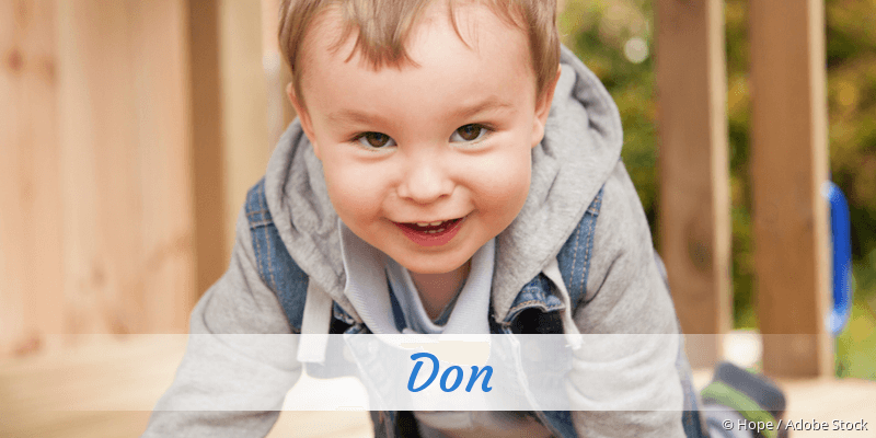 Name Don als Bild