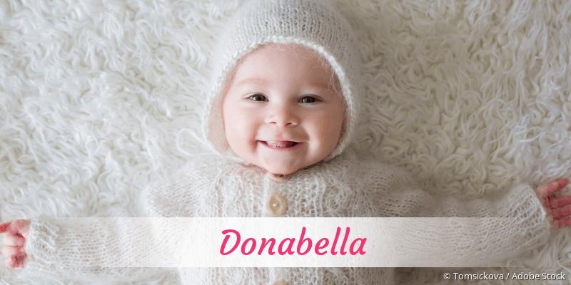 Name Donabella als Bild