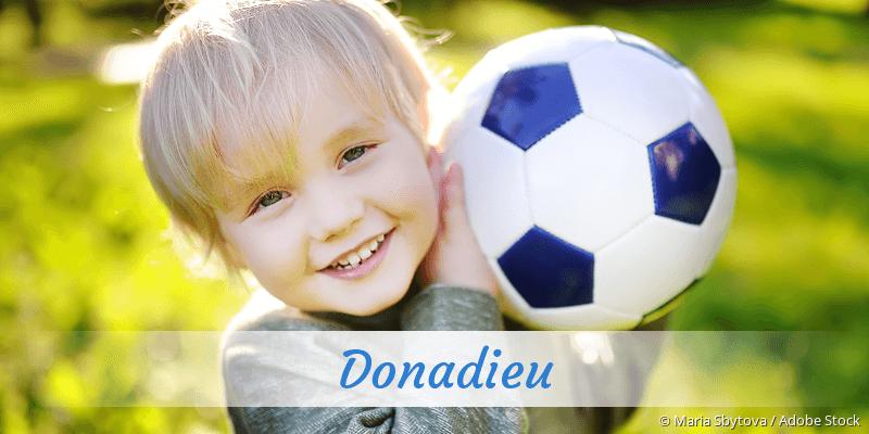 Name Donadieu als Bild