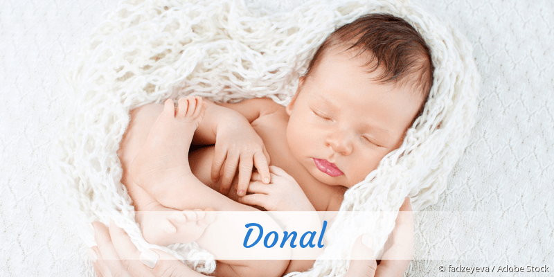Name Donal als Bild