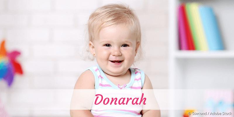 Name Donarah als Bild