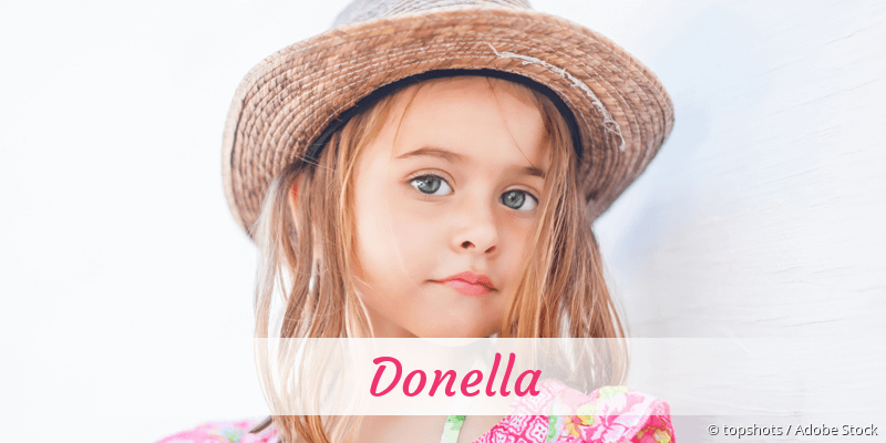 Name Donella als Bild