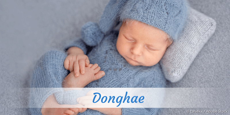 Name Donghae als Bild