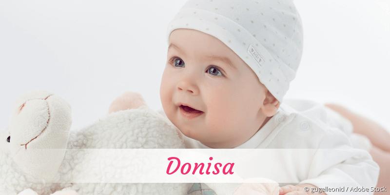 Name Donisa als Bild