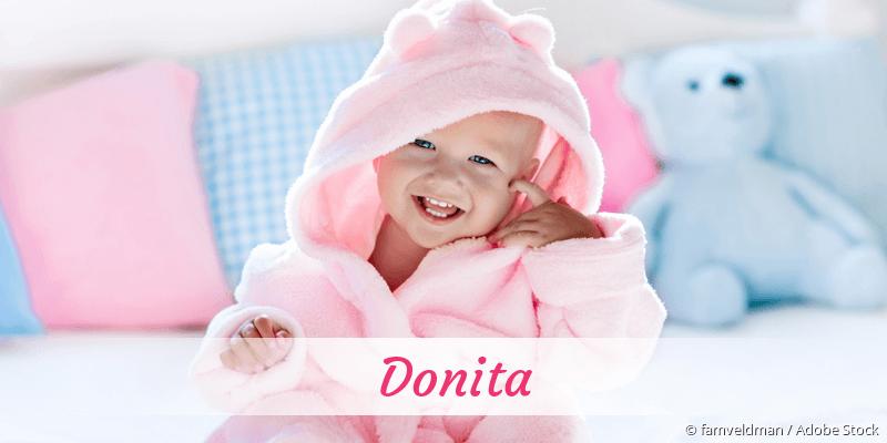 Name Donita als Bild