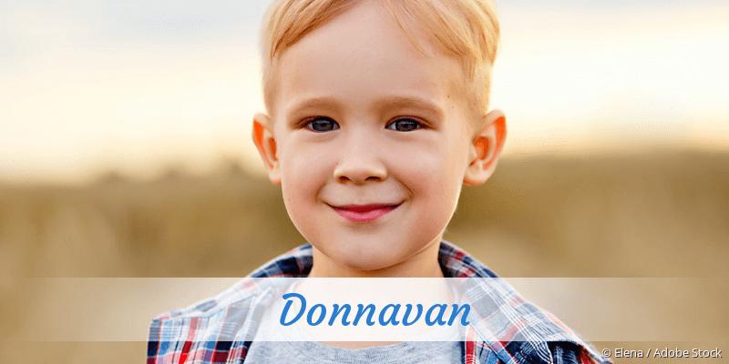 Name Donnavan als Bild