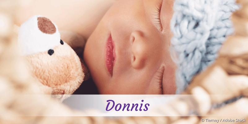 Name Donnis als Bild