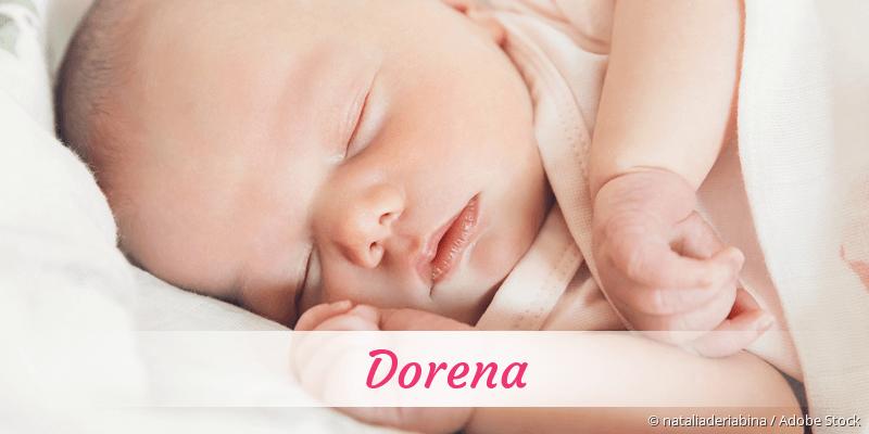 Name Dorena als Bild