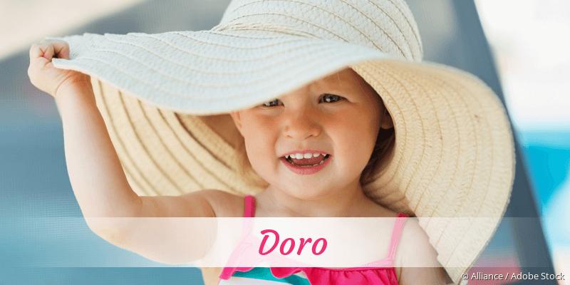 Name Doro als Bild