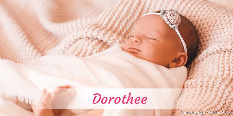 Name Dorothee als Bild