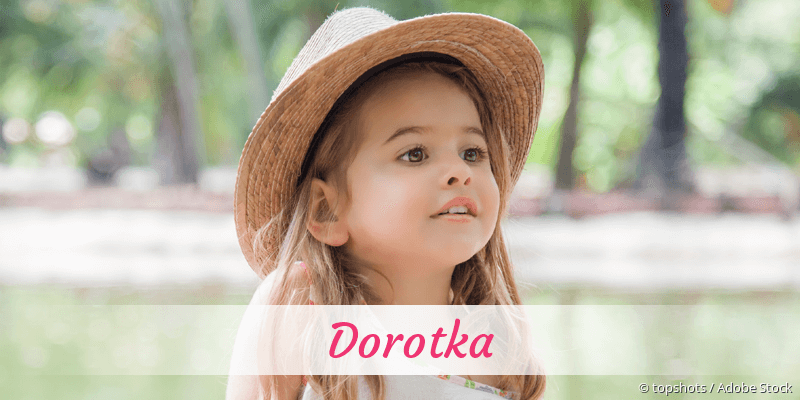 Name Dorotka als Bild