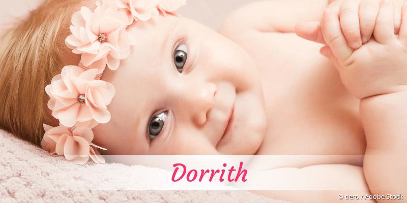 Name Dorrith als Bild