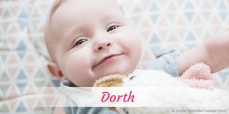 Name Dorth als Bild